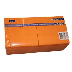 Zelltuch Serviette orange